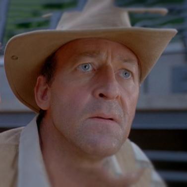 Reference Robert Muldoon Jurassic Park Motor Pool