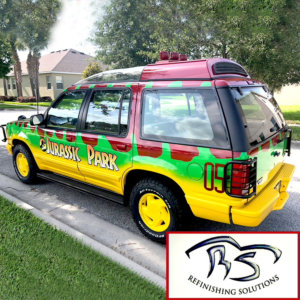 Reference Ford Explorer Guide Jurassic Park Motor Pool Wiring Harness Color Code For Car Note The Vehicle