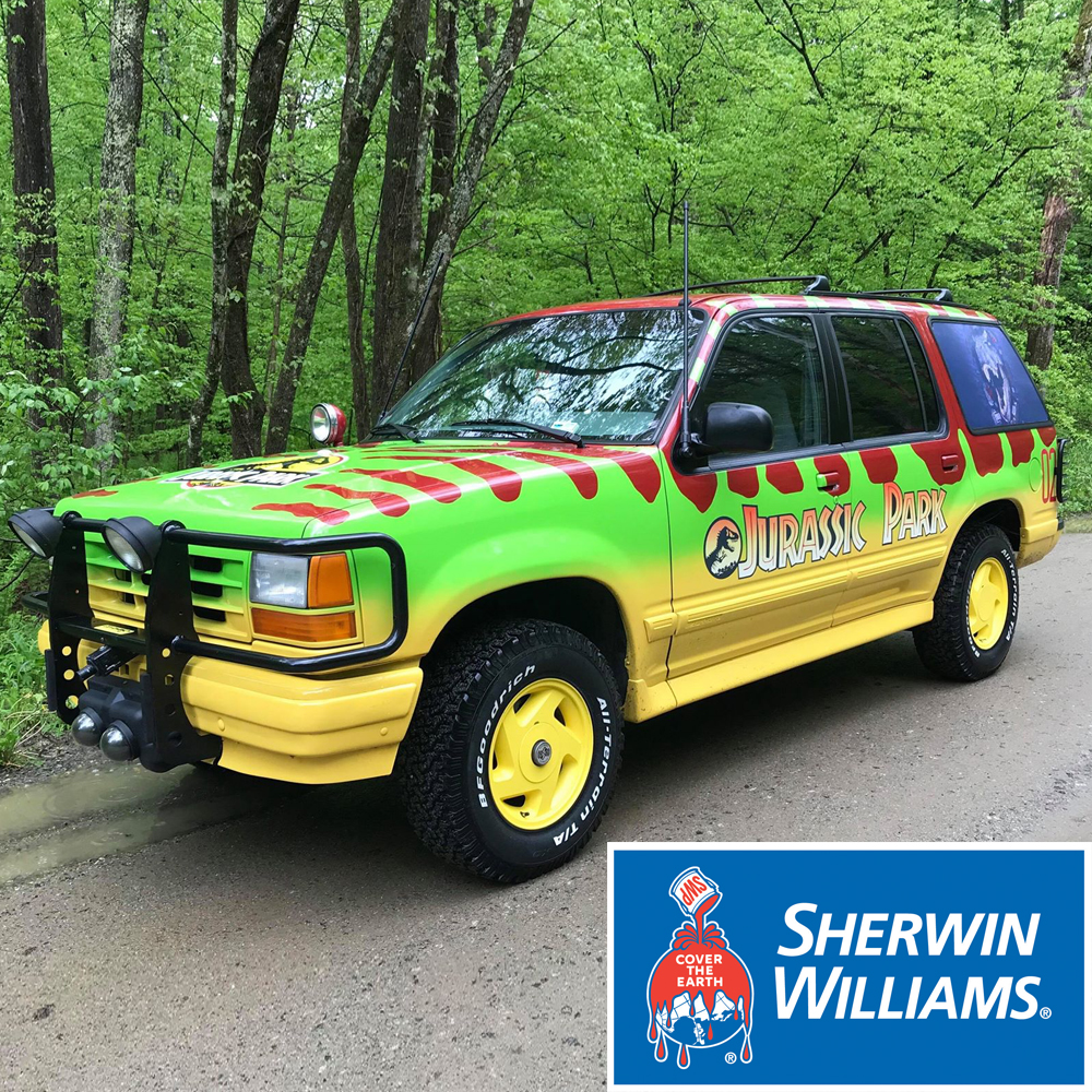 Reference Ford Explorer Guide Jurassic Park Motor Pool Wiring Harness Color Code For Car Paint