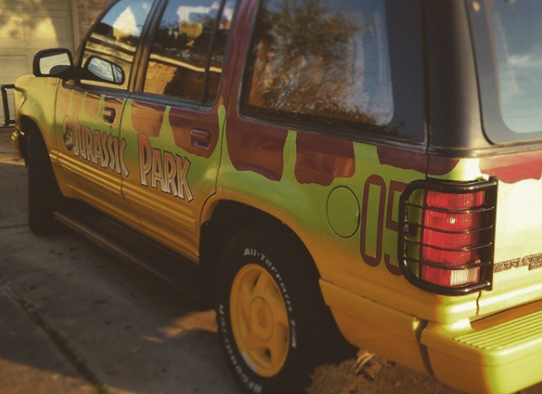 Reference Ford Explorer Guide Jurassic Park Motor Pool