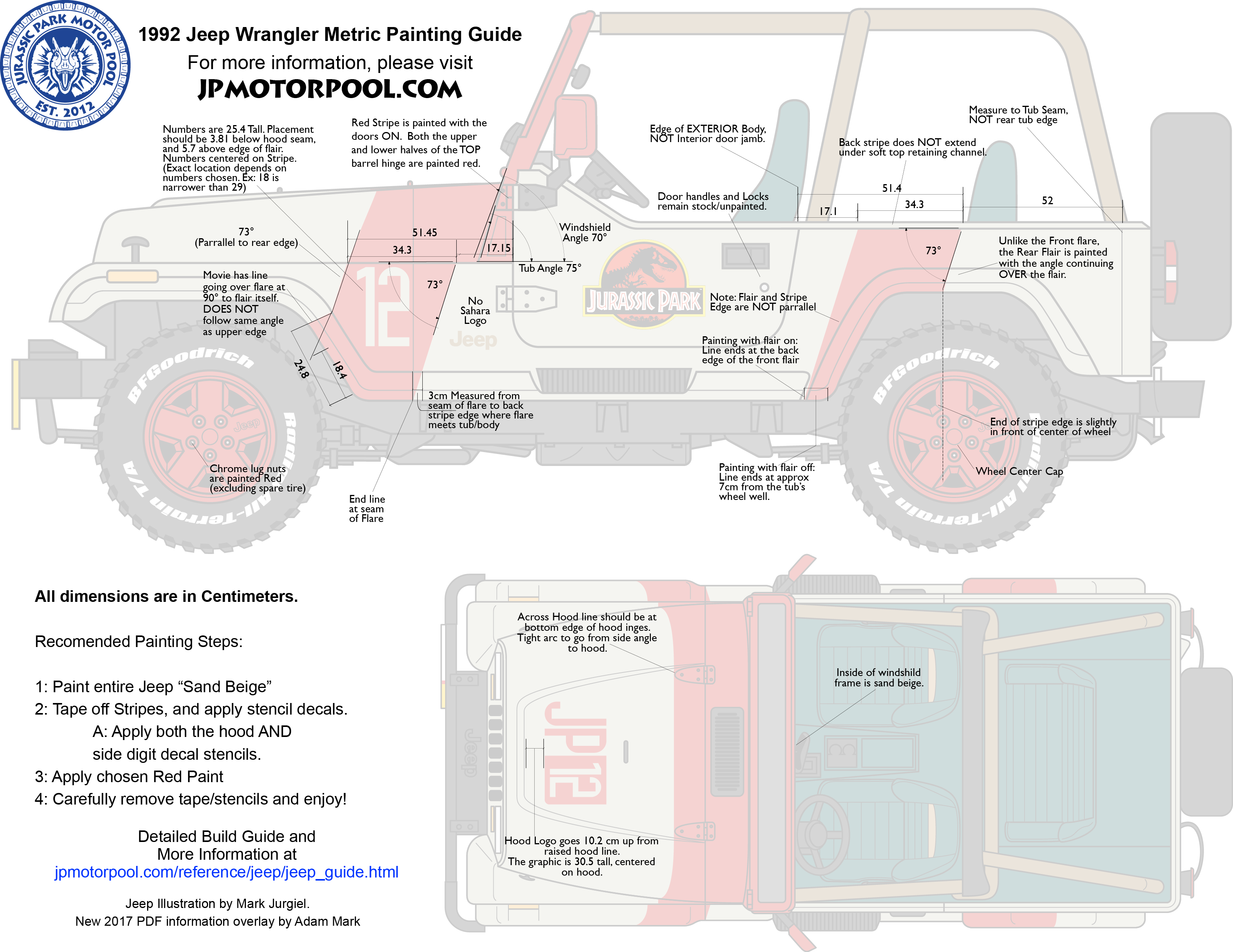Reference Jeep Wrangler Guide Jurassic Park Motor Pool Hardtop For Tj Wiring Diagram Download This